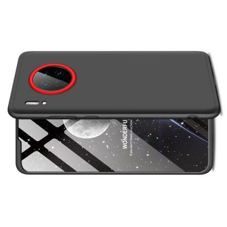 Съемный 360 GKK Матовый Жесткий Пластиковый Чехол для Huawei Mate 30 Черный