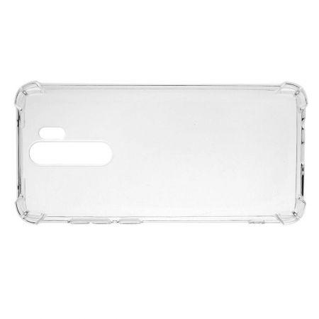 Тонкий TPU Бампер Силиконовый Чехол для Xiaomi Redmi Note 8 Pro Прозрачный