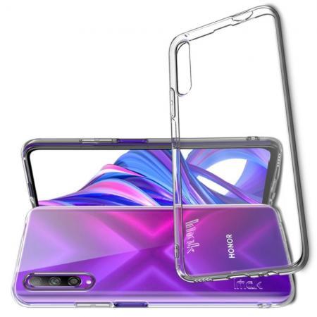 Тонкий TPU Бампер Силиконовый Чехол для Huawei Honor 9X Pro Прозрачный