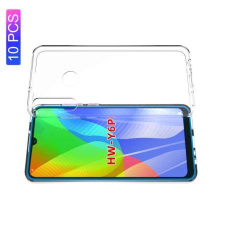 Тонкий TPU Бампер Силиконовый Чехол для Huawei Y6p Прозрачный