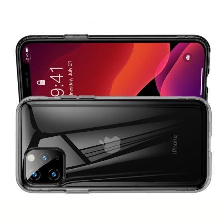 BASEUS Противоударный Защитный Силиконовый Чехол для Телефона TPU для iPhone 11 Pro Max Черный