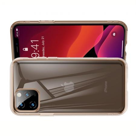 BASEUS Противоударный Защитный Силиконовый Чехол для Телефона TPU для iPhone 11 Pro Золотой