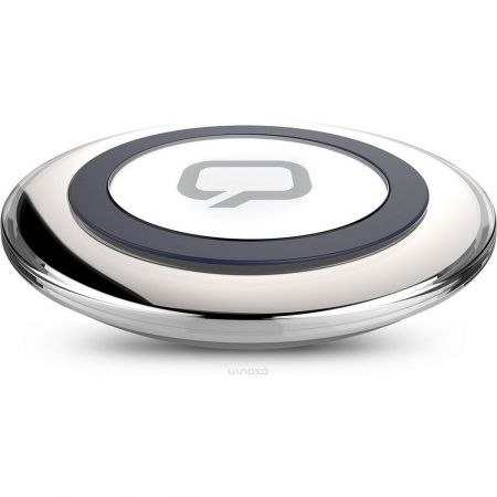 Беспроводная Qi зарядка для телефонов Qumo