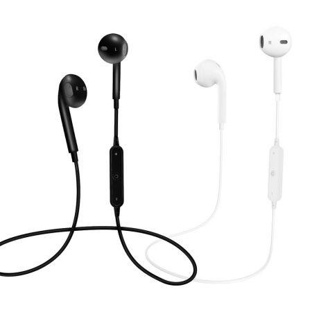Bluetooth Беспроводные наушники для телефона BHS-01 Red Line