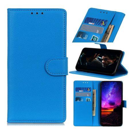 Боковая Чехол Книжка Кошелек с Футляром для Карт и Застежкой Магнитом для Nokia 2.3 Синий