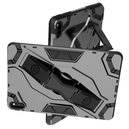 Defender Бронированный Противоударный Чехол Бампер для Huawei MatePad 10.4 (2020) Черный