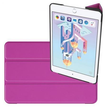 Двухсторонний Чехол Книжка для планшета Apple iPad mini 2019 Искусственно Кожаный с Подставкой Фиолетовый