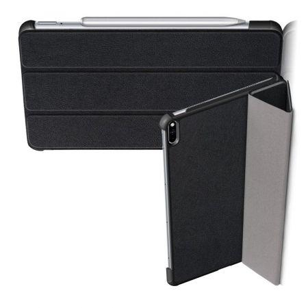 Двухсторонний Чехол Книжка для планшета Huawei MatePad Pro Искусственно Кожаный с Подставкой Черный