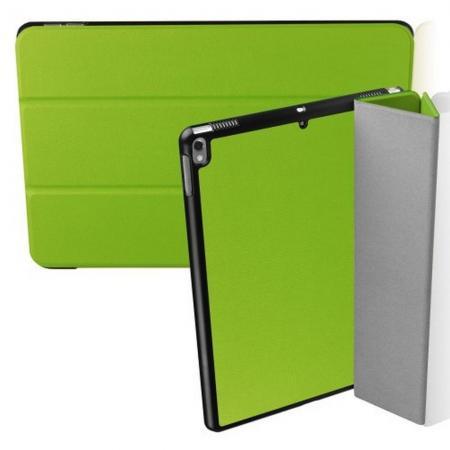 Двухсторонний Чехол Книжка для планшета iPad Air 10.5 2019 Искусственно Кожаный с Подставкой Зеленый