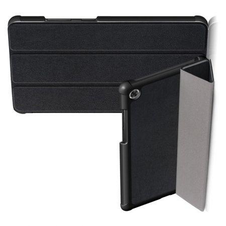 Двухсторонний Чехол Книжка для планшета Samsung Galaxy Tab A7 10.4 2020 SM-T505 Искусственно Кожаный с Подставкой Черный