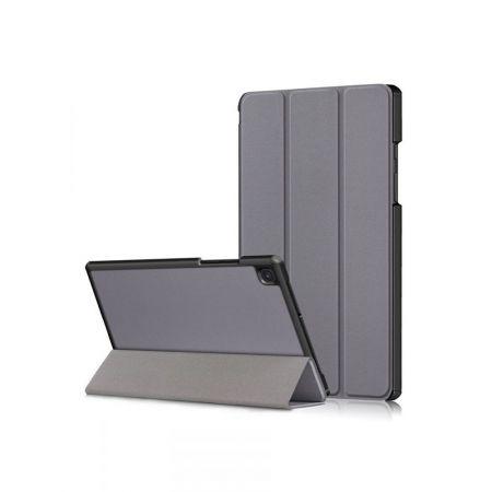 Двухсторонний Чехол Книжка для планшета Samsung Galaxy Tab A7 10.4 2020 SM-T505 Искусственно Кожаный с Подставкой Серый