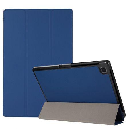 Двухсторонний Чехол Книжка для планшета Samsung Galaxy Tab A7 10.4 2020 SM-T505 Искусственно Кожаный с Подставкой Синий