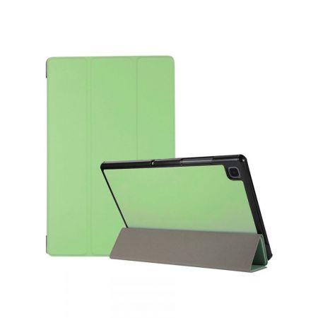 Двухсторонний Чехол Книжка для планшета Samsung Galaxy Tab A7 10.4 2020 SM-T505 Искусственно Кожаный с Подставкой Зеленый