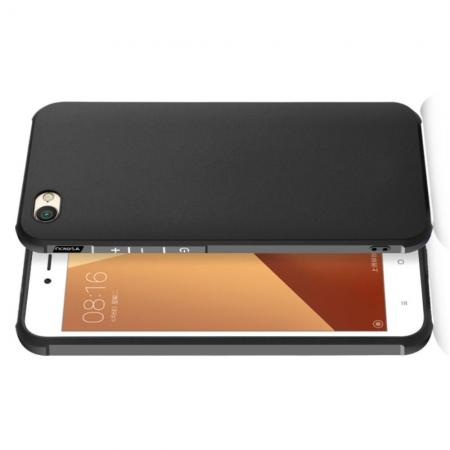 Extreme Усиленный Защитный Силиконовый Матовый Чехол для Xiaomi Redmi Note 5A 2/16gb Черный