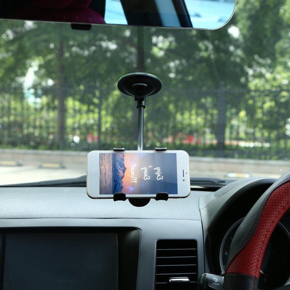Автомобильный держатель для телефона на стекло универсальный crab