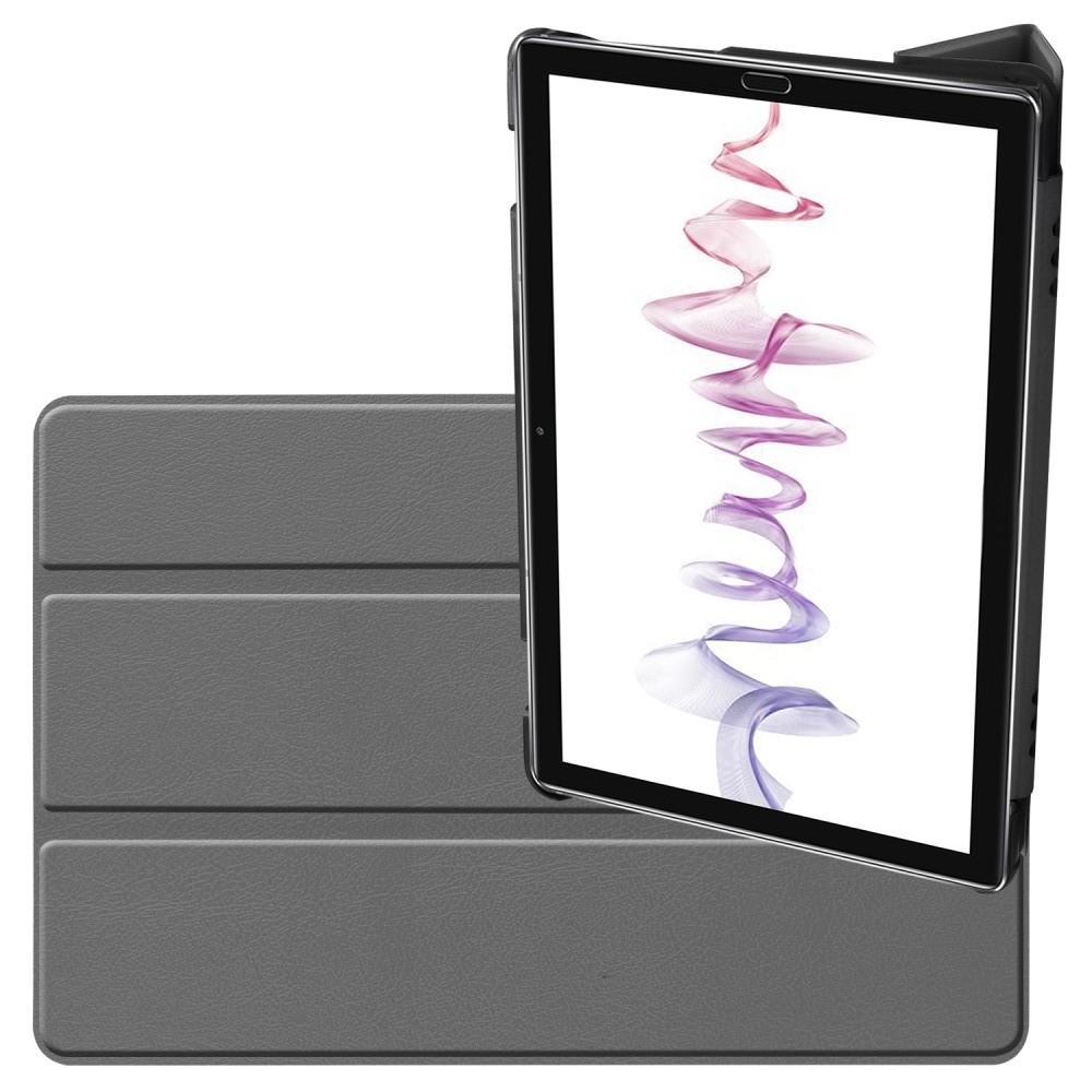 Двухсторонний Чехол Книжка для планшета Huawei MediaPad M6 10.8 Искусственно Кожаный с Подставкой Серый