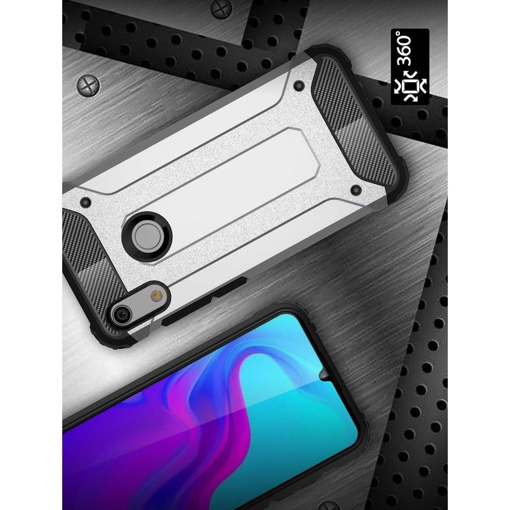 Extreme Усиленный Защитный Силиконовый Матовый Чехол для Huawei Honor 8A Черный