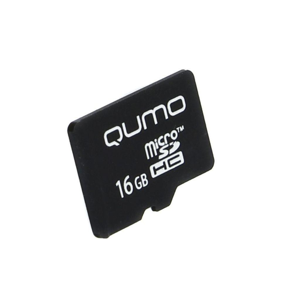Карта памяти для телефона 16 Гб MicroSD Class 10 Qumo