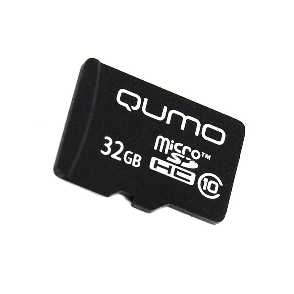 Карта памяти для телефона 32 Гб MicroSD Class 10 Qumo