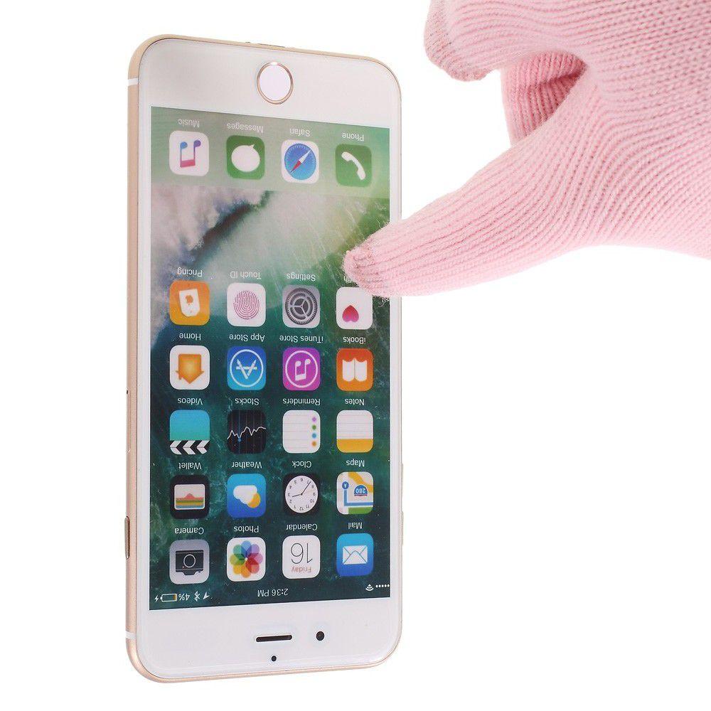 Перчатки для сенсорных экранов телефона