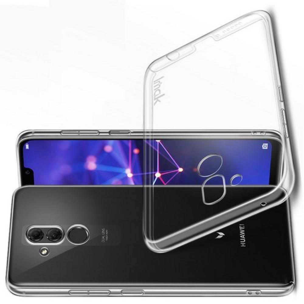 Пластиковый Жесткий Прозрачный Корпус IMAK Чехол для Huawei Mate 20 Lite