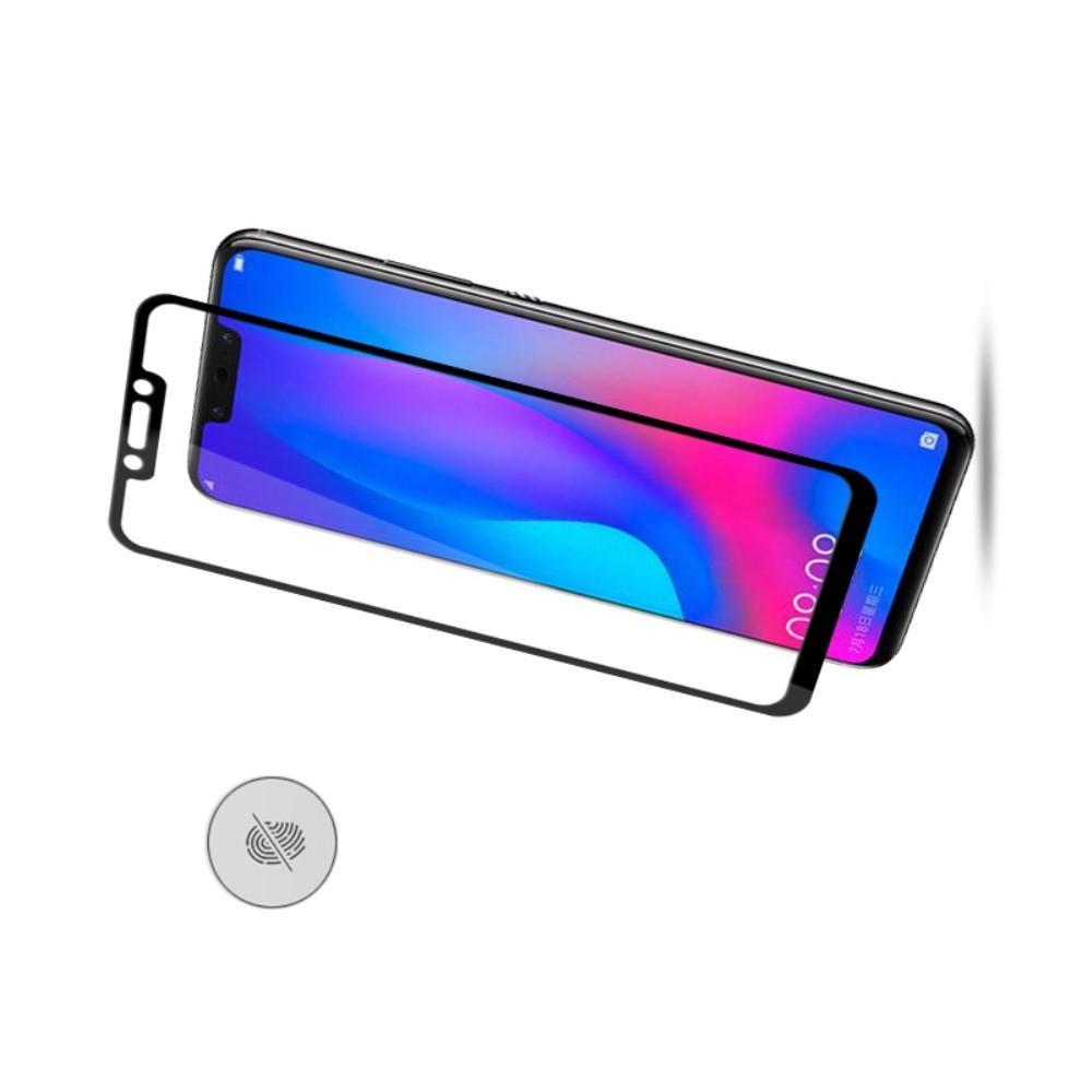 Полноэкранное Закаленное Олеофобное DF Full Screen Защитное Стекло Белое для Huawei nova 3