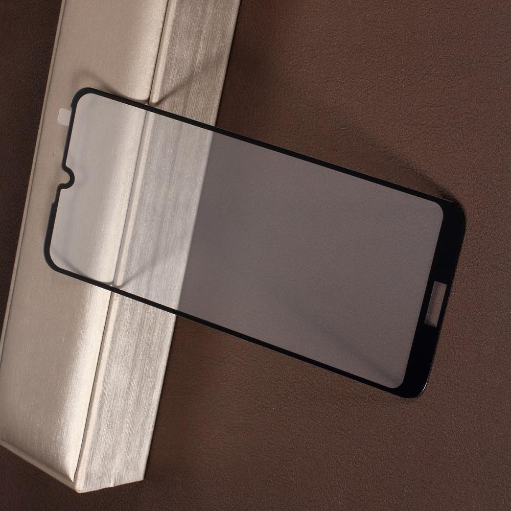 Полноэкранное Закаленное Олеофобное DF Full Screen Защитное Стекло Черное для Huawei Honor 8A