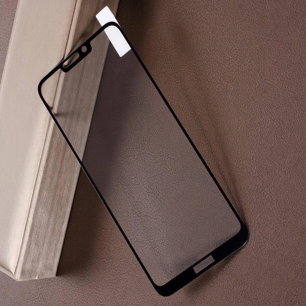 Полноэкранное Закаленное Олеофобное DF Full Screen Защитное Стекло Черное для Huawei Honor 8C