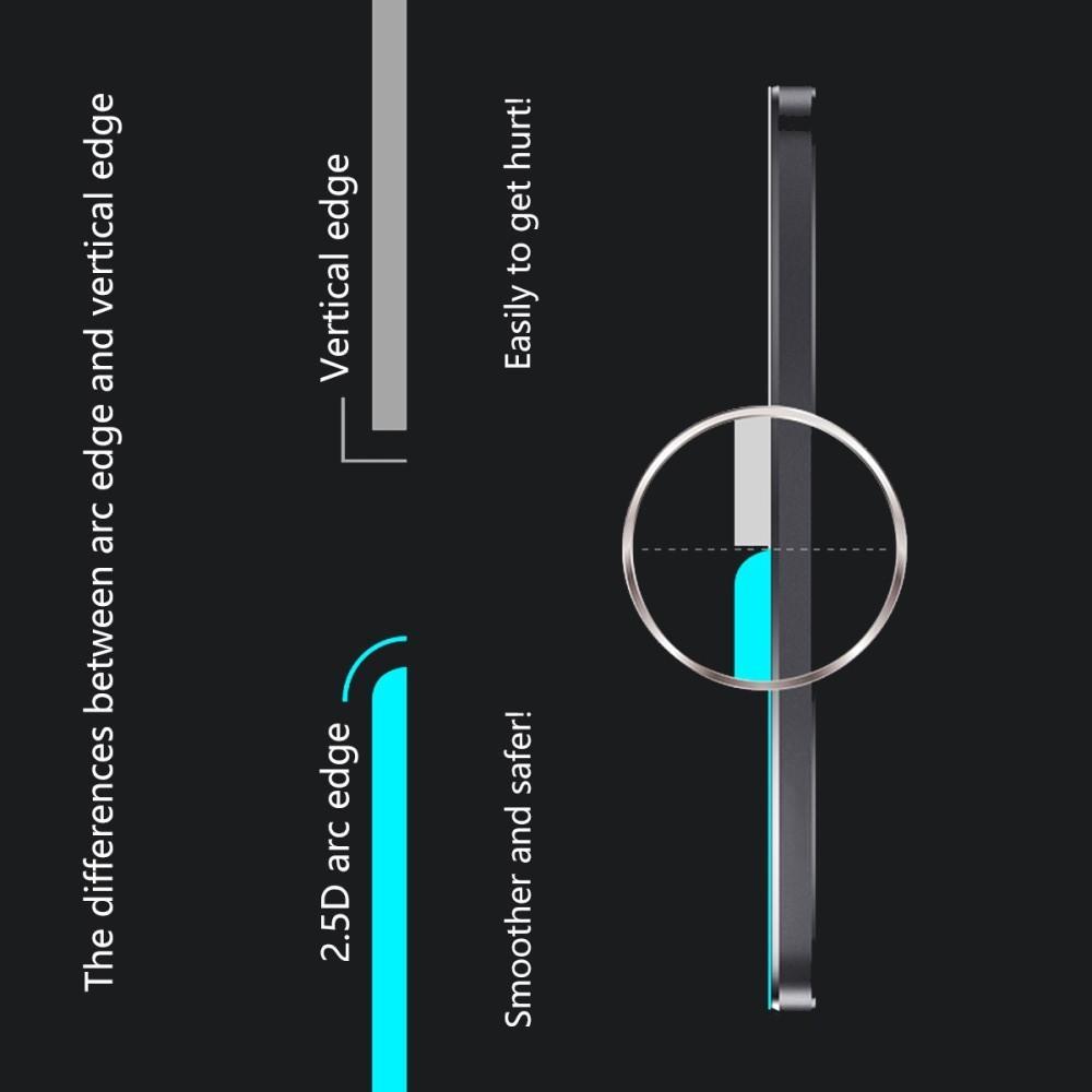 Полноэкранное Закаленное Олеофобное DF Full Screen Защитное Стекло Черное для Huawei Honor 8X