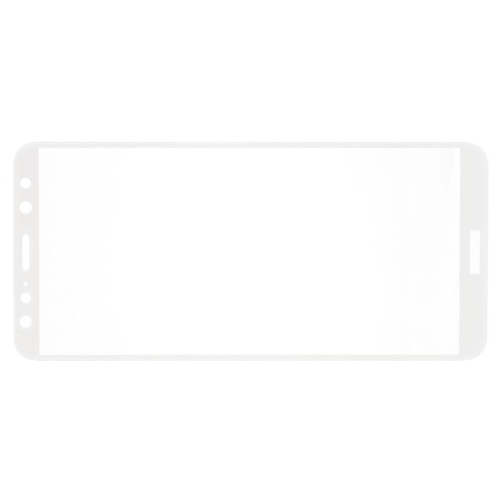Полноэкранное Закаленное Олеофобное DF Full Screen Защитное Стекло Белое для Huawei Nova 2i / Mate 10 Lite