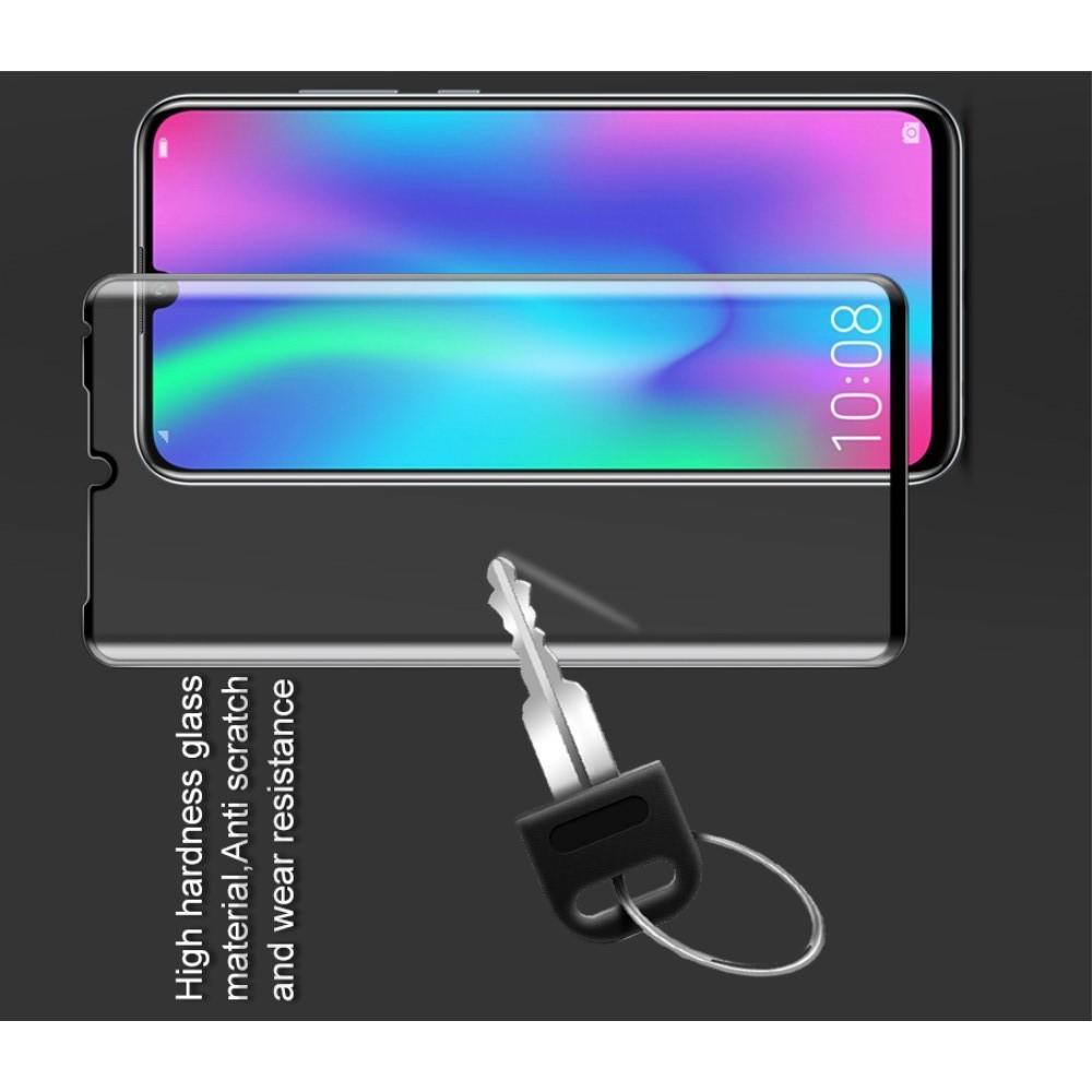 Полноэкранное Закаленное Олеофобное DF Full Screen Защитное Стекло Черное для Huawei P30 Pro