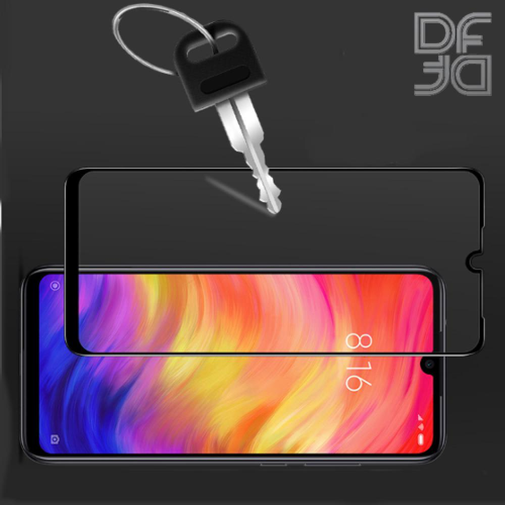 Полноэкранное Закаленное Олеофобное DF Full Screen Защитное Стекло Черное для Xiaomi Redmi 7