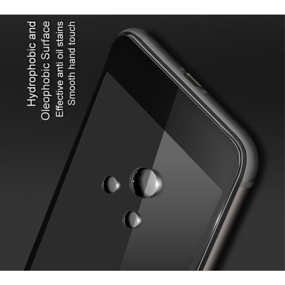 Полноразмерное Закаленное Защитное IMAK Full Screen Стекло для Экрана Huawei Y5 2018 / Y5 Prime 2018 / Honor 7A с Черном рамкой