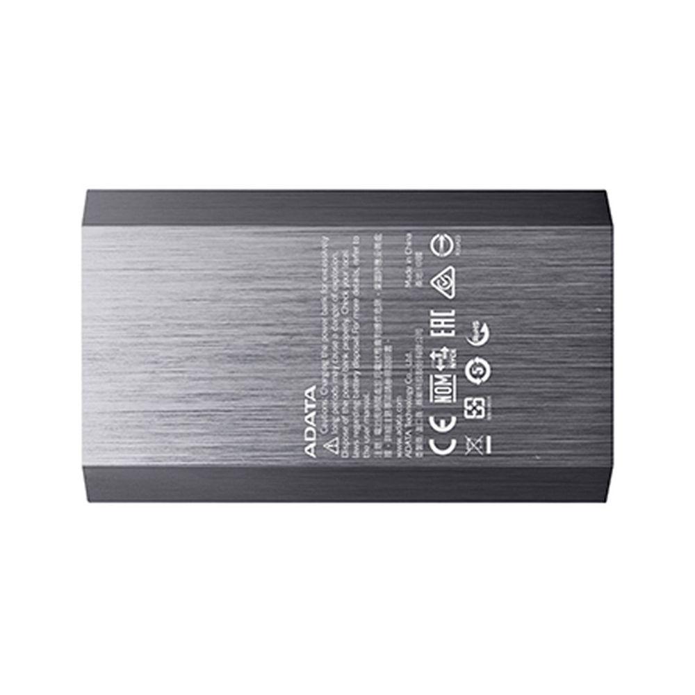 Портативный аккумулятор для телефона 10050mAh 2 USB ADATA