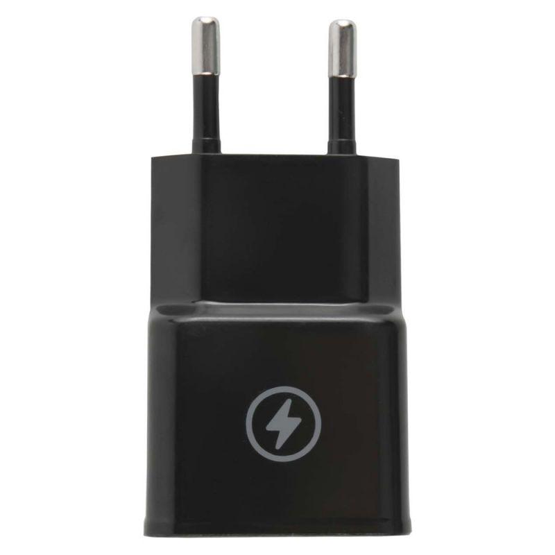Сетевая зарядка 1 USB для телефона универсальная 1A 5В