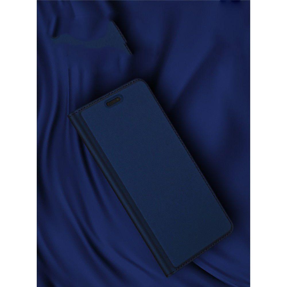 Тонкий Флип Чехол Книжка с Скрытым Магнитом и Отделением для Карты для Huawei P20 Pro Черный
