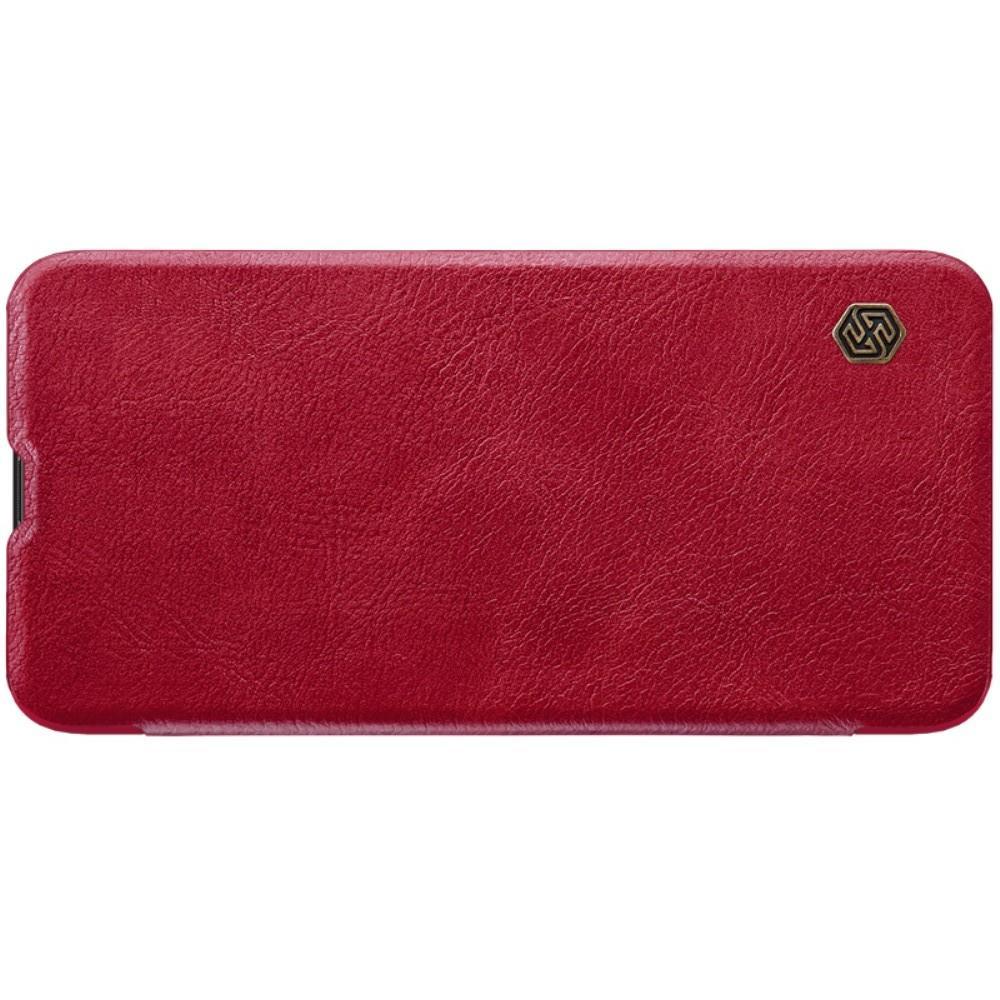Тонкий Флип NILLKIN Qin Чехол Книжка для Huawei Honor View 20 (V20) Красный