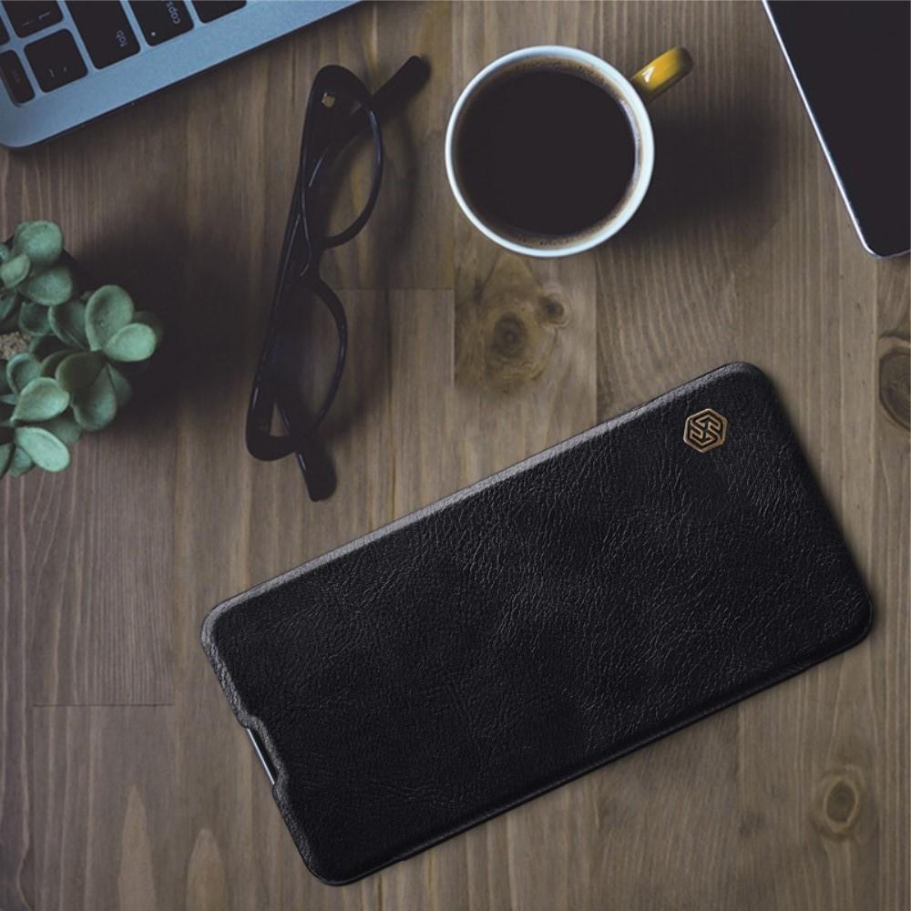 Тонкий Флип NILLKIN Qin Чехол Книжка для Huawei Mate 20 Черный