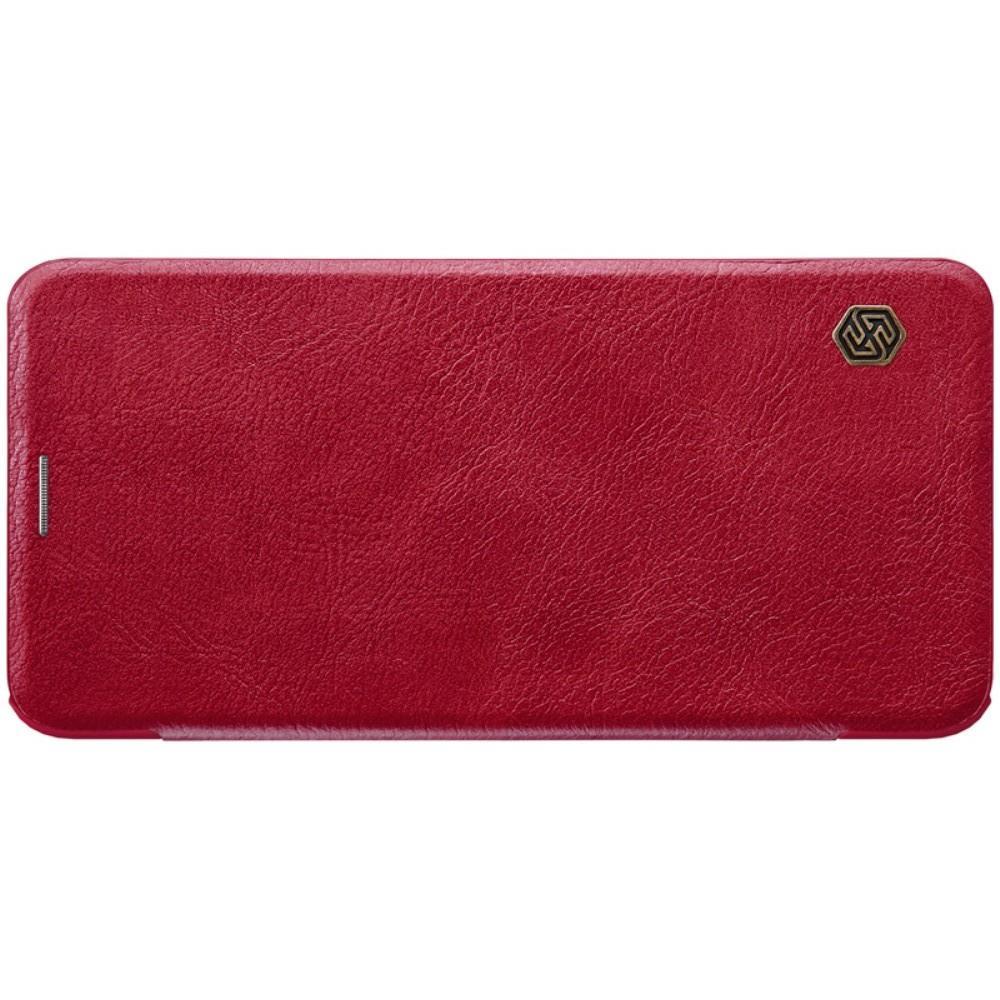 Тонкий Флип NILLKIN Qin Чехол Книжка для Huawei nova 3 Красный