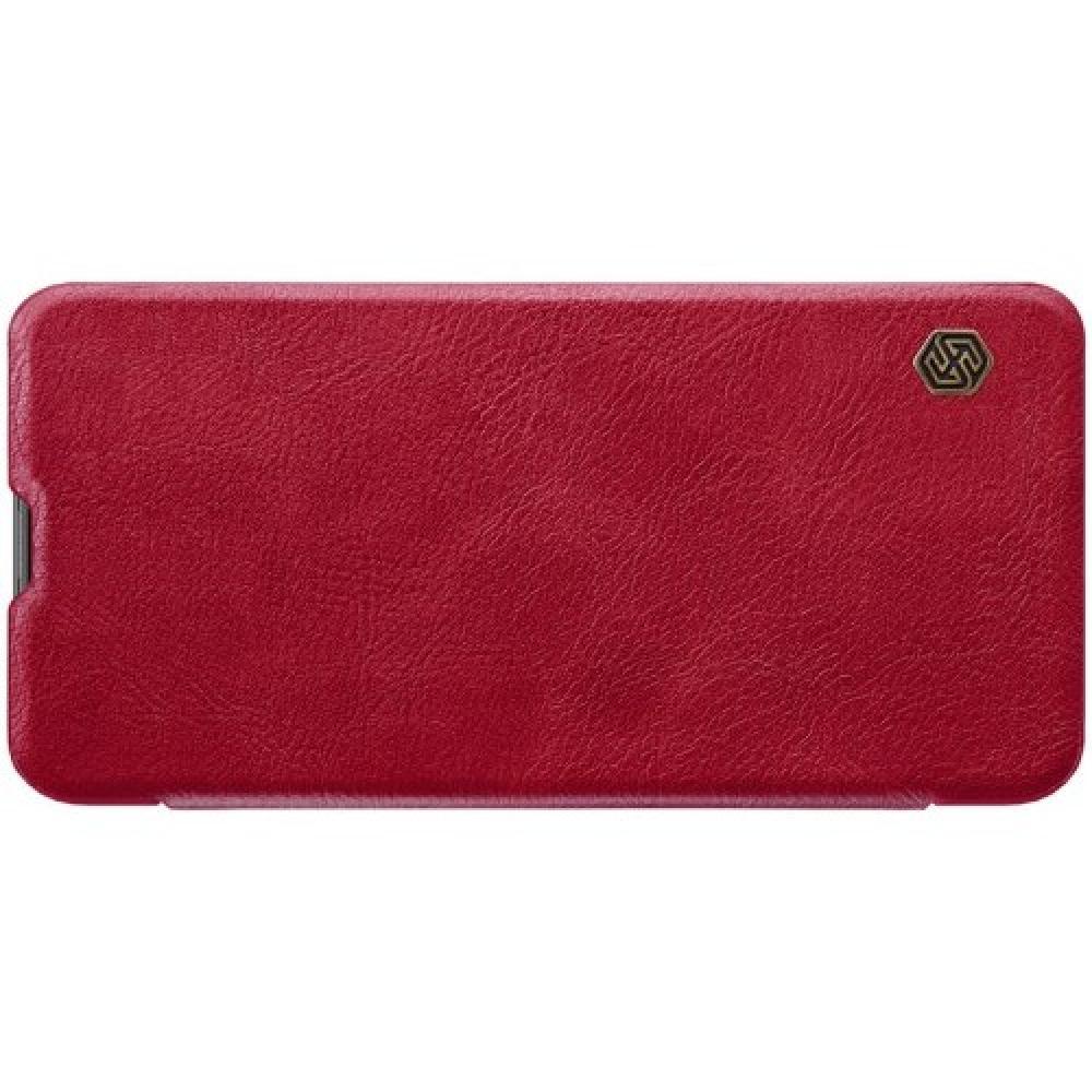 Тонкий Флип NILLKIN Qin Чехол Книжка для Huawei Nova 4 Красный