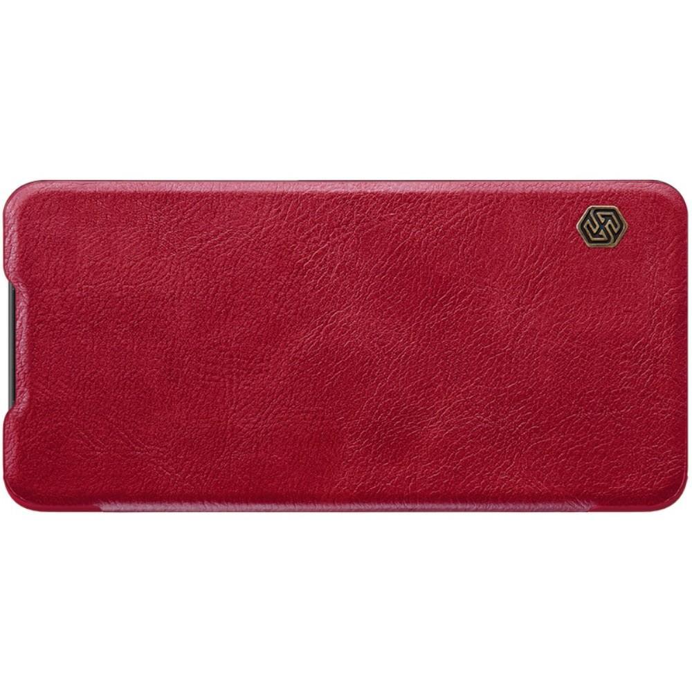 Тонкий Флип NILLKIN Qin Чехол Книжка для Huawei P30 Красный