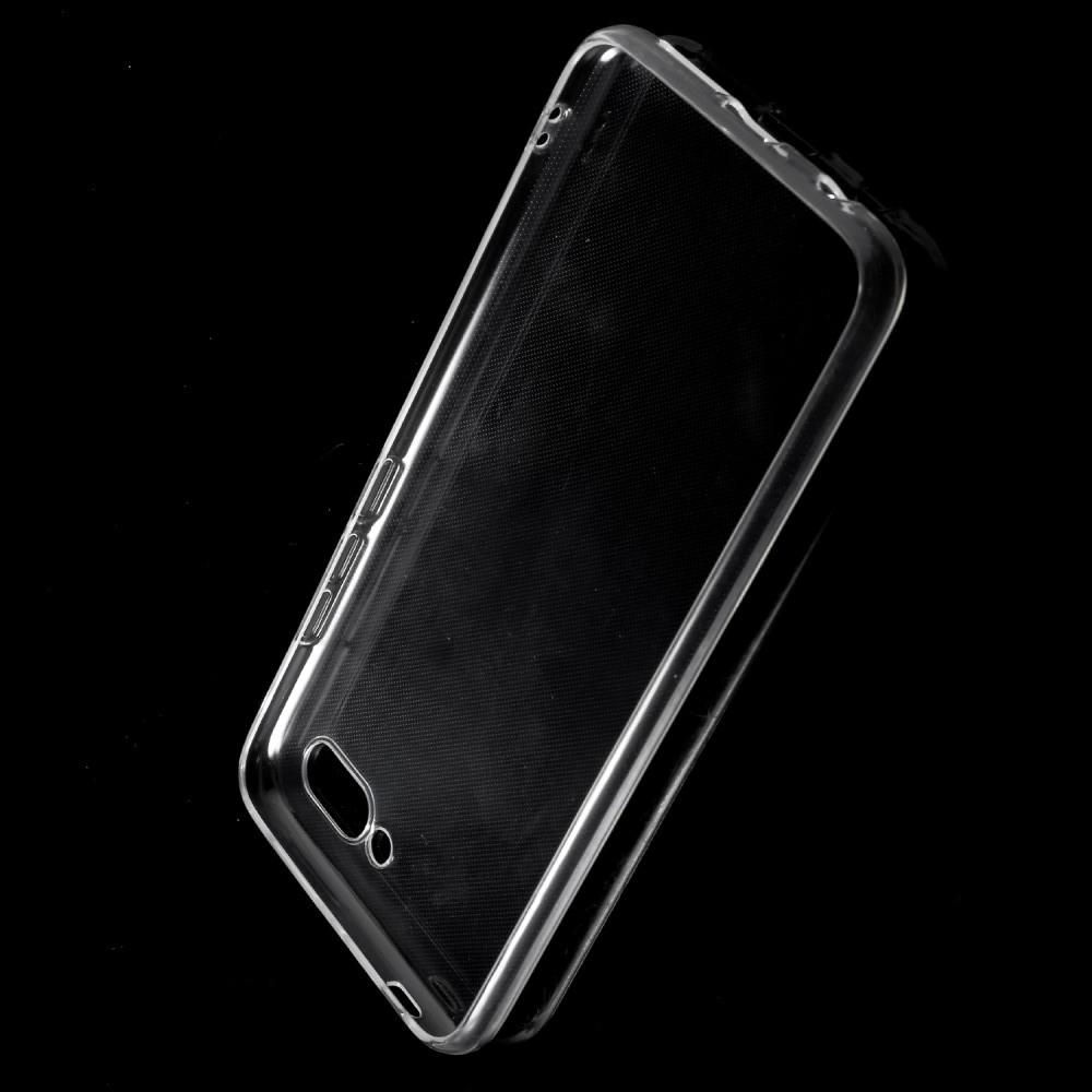 Тонкий TPU Бампер Силиконовый Чехол для Huawei Honor 10 Прозрачный