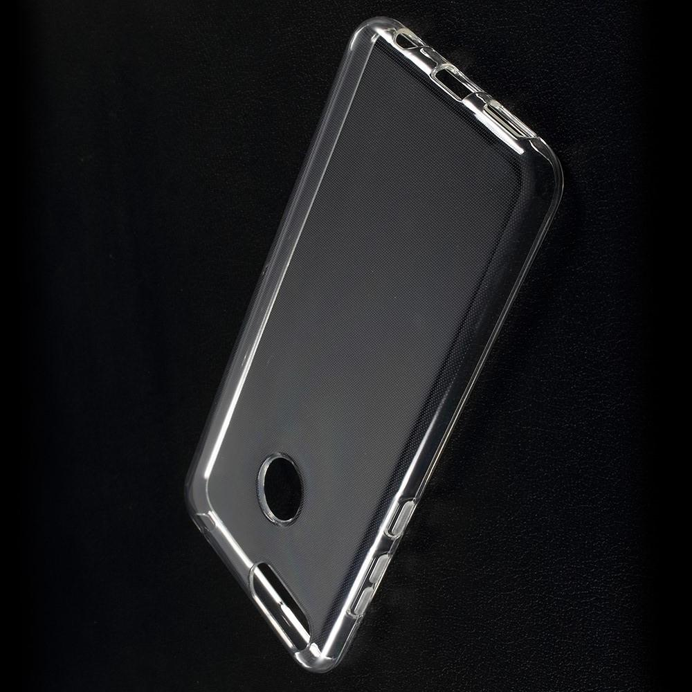 Тонкий TPU Бампер Силиконовый Чехол для Huawei Honor 7X