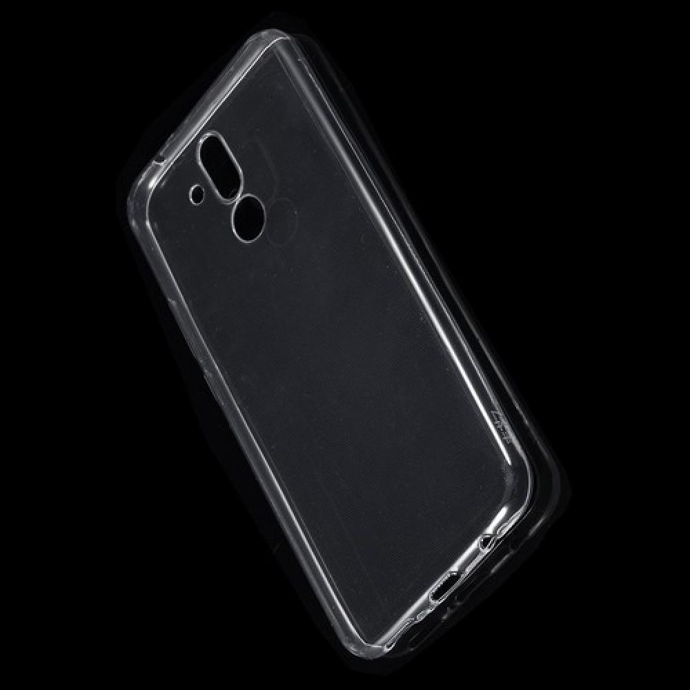 Тонкий TPU Бампер Силиконовый Чехол для Huawei Mate 20 Lite Прозрачный