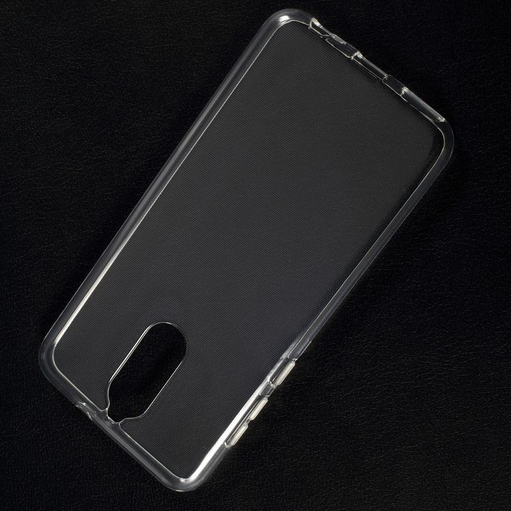 Тонкий TPU Бампер Силиконовый Чехол для Huawei Nova 2i / Mate 10 Lite