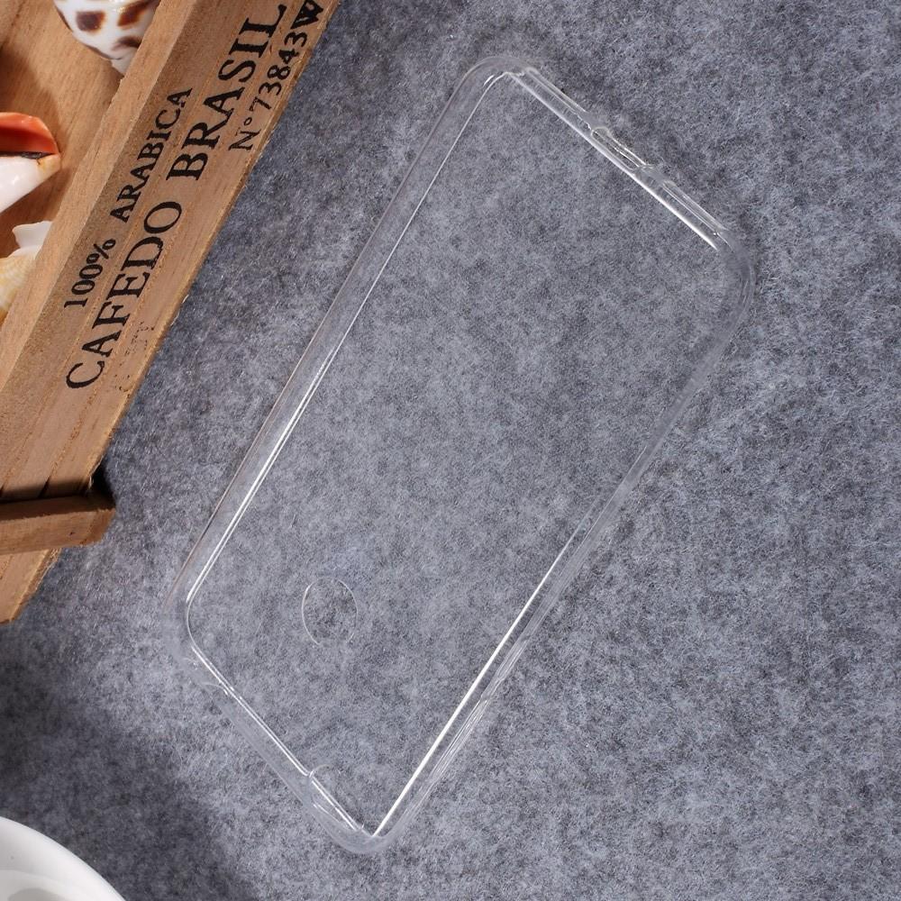 Тонкий TPU Бампер Силиконовый Чехол для Huawei P8 Lite (2017) / Honor 8 Lite Прозрачный