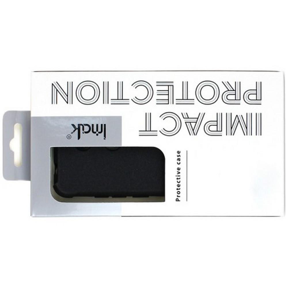 Ударопрочный бронированный IMAK чехол для Huawei Honor View 20 (V20) с усиленными углами черный + защитная пленка на экран