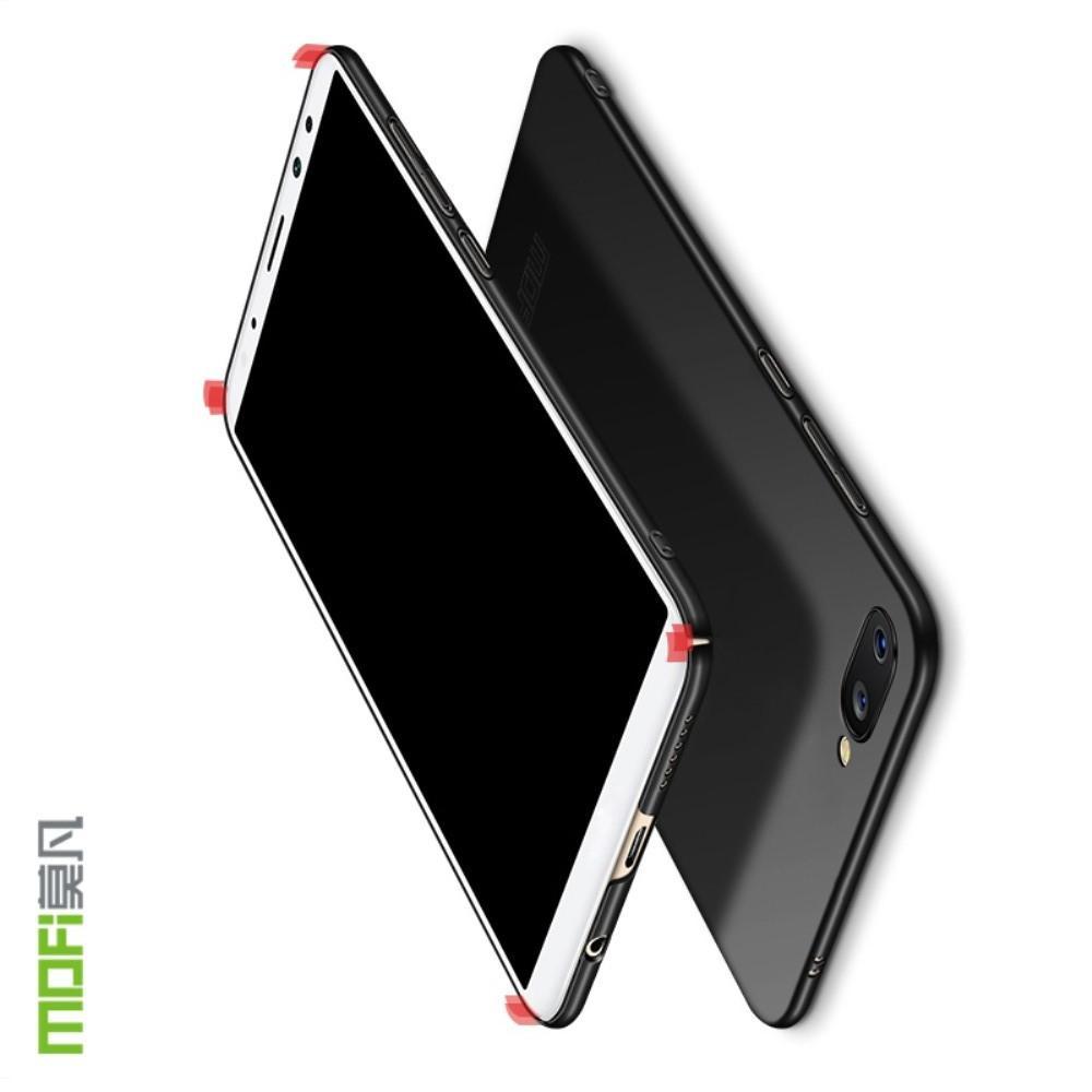 Ультратонкий Матовый Кейс Пластиковый Накладка Чехол для Huawei Honor 10 Черный