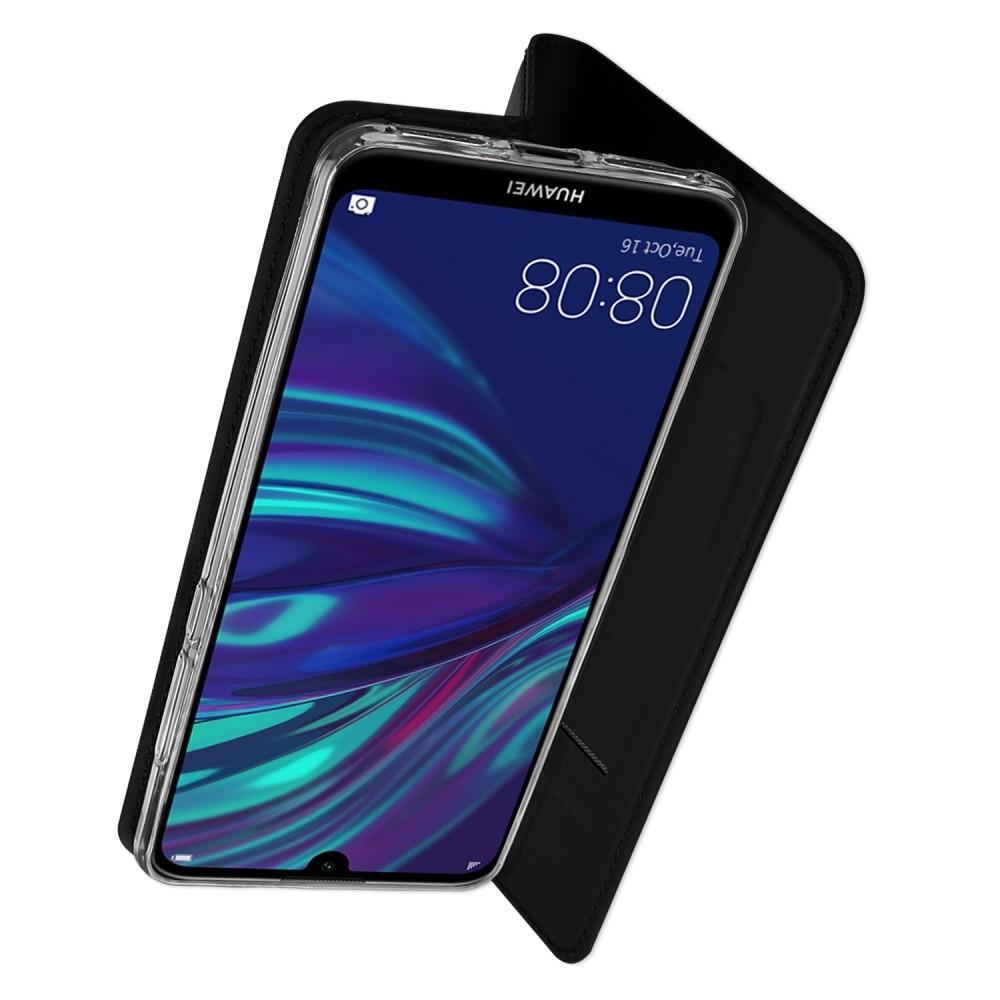 Ультратонкий Матовый Кейс Пластиковый Накладка Чехол для Huawei Y7 Pro 2019 Черный