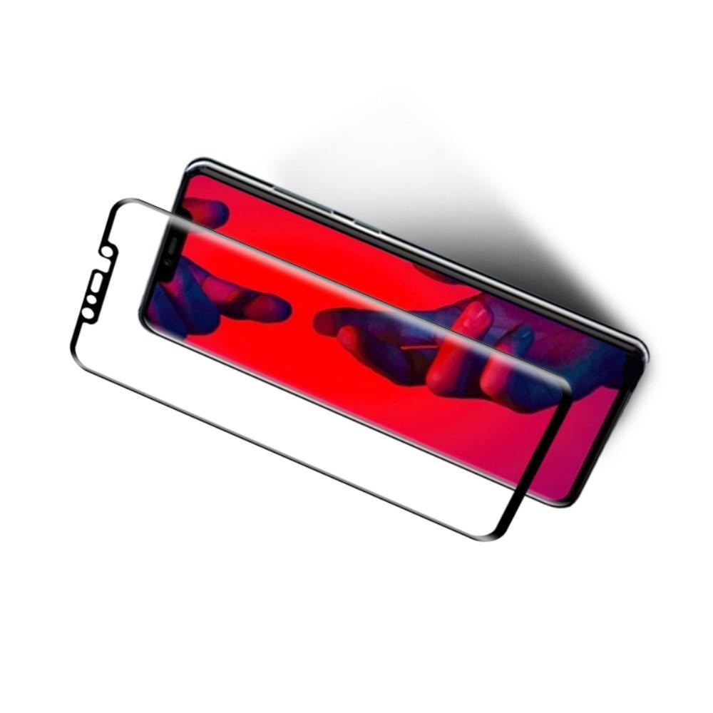 Закаленное Изогнутое Защитное MOCOLO Tempered 3D Стекло для Huawei Mate 20 Pro Черное